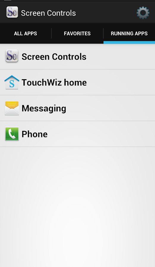 Screen Controls (Beta) - screenshot