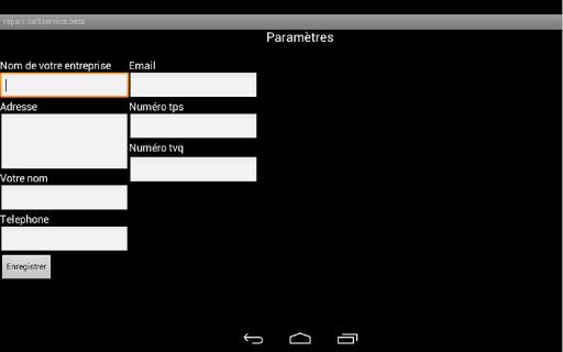 Devis et facture avec pub Android screenshots {n} 4