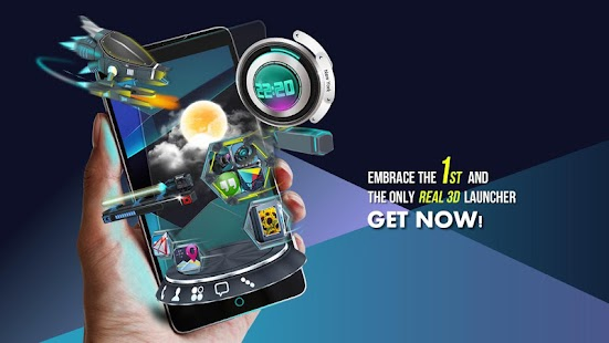 Next Launcher 3D Shell 3.09 APK Android