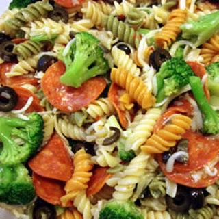 Rainbow Pasta Salad I