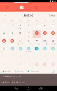 Once -A special period tracker - screenshot thumbnail