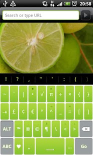Lime Pro - HD Keyboard Theme- screenshot thumbnail