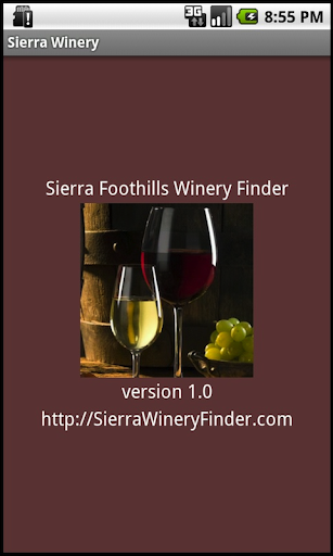 Sierra Foothills Winery Finder