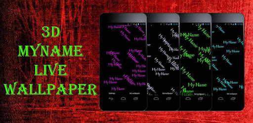 Myname Live Wallpaper 3d Apps On Google Play