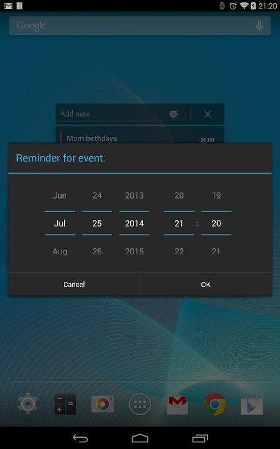 Notepad Reminder- screenshot