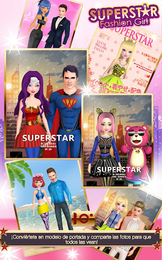 Superstar Fashion Girl para Android