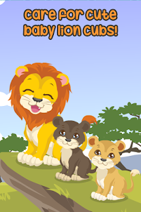 Lion Care Game Lion Dress Up