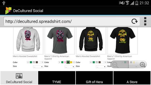 【免費購物App】De//Cultured Clothing Social-APP點子