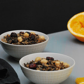 Wild Rice & Wheatberries with Citrus Dressing