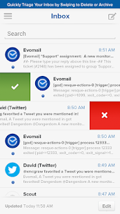 Evomail - Gmail, Yahoo & more! - screenshot thumbnail