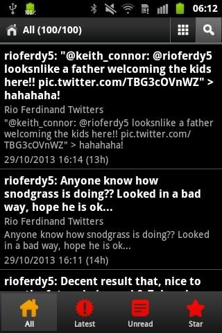 Man Utd Players Twitters
