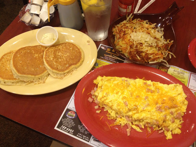 My gluten free breakfast!! Happy!!