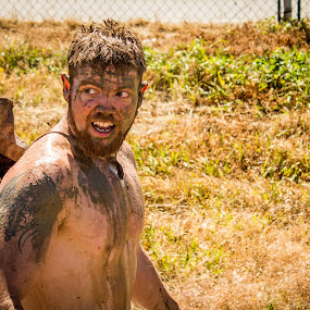 Mud Scars by Will Ballew - People Street & Candids ( mud, billings, dirty dash )