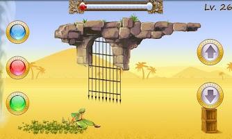 Screenshot of Sandstorm Rush Lite