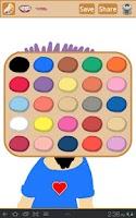 Screenshot of Finger Paint Free