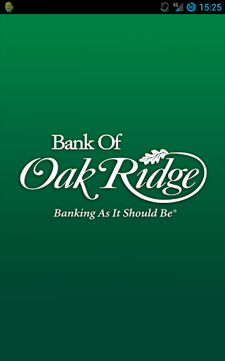 Bank of Oak Ridge Mobile