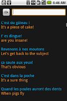 Screenshot of XELADICO French  Phrasebook