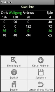 Skat Score- screenshot thumbnail