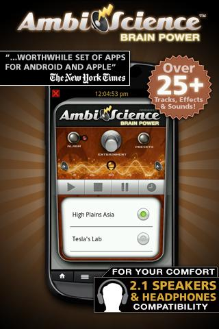 Brain Power! | AmbiScience™ - screenshot