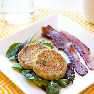 Tuna Cakes with Green Olives.