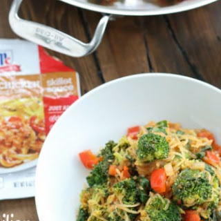 Sicilian Spaghetti Squash with Vegetables