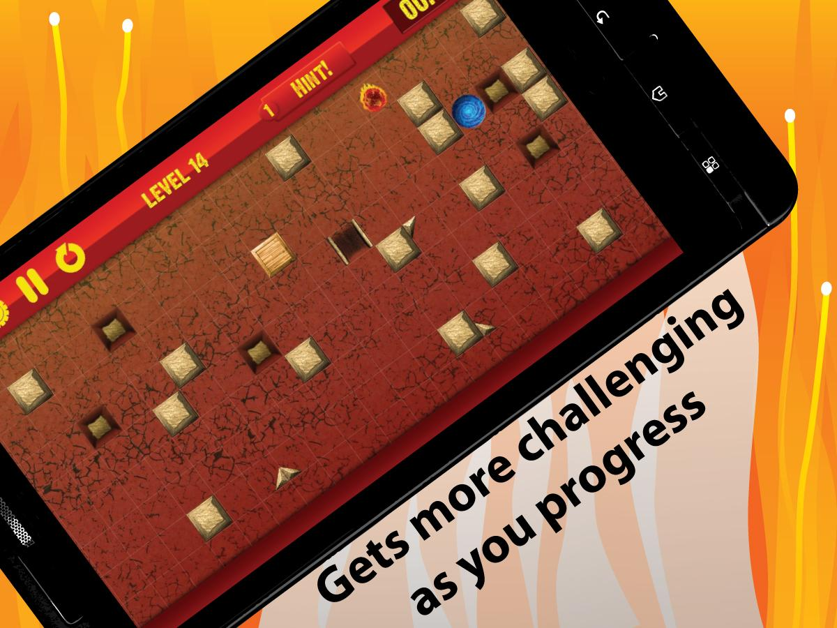 Fireball Game: Puzzle Escape - screenshot