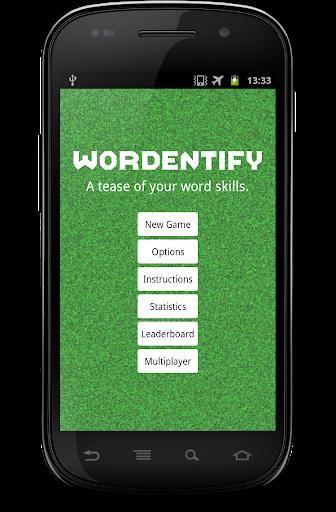 Wordentify - Free Word Jumble.