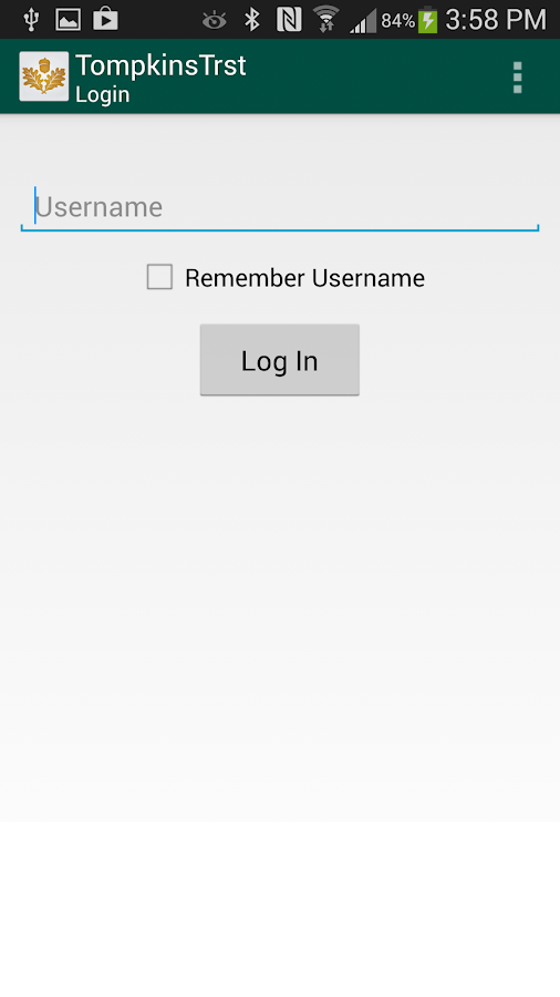 Tompkins Trust Company Mobile - screenshot