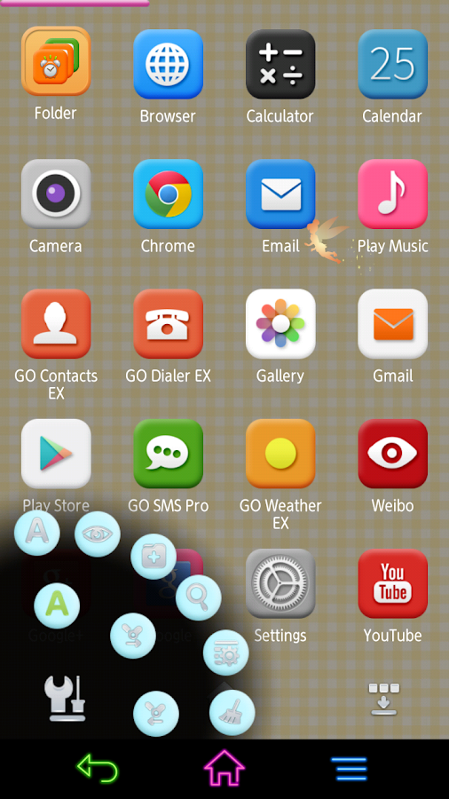 Colorful Days Next 3D Theme - screenshot