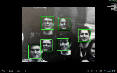 OpenCV Face Detection - screenshot thumbnail