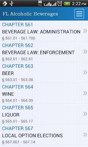 FL Alcoholic Beverages Code