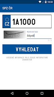 SPZ ČR - screenshot thumbnail