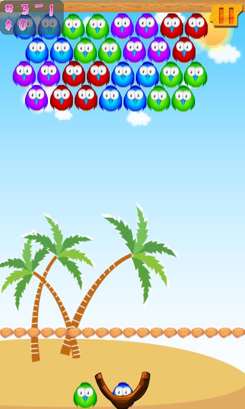Bubble Birds (Bubble Shooter)- screenshot