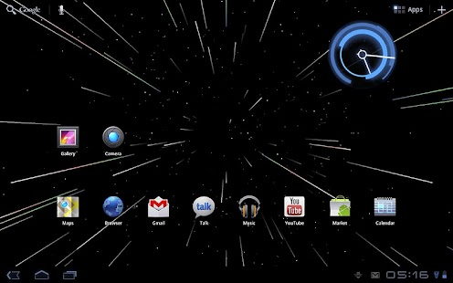 Starfield 2.0 Live Wallpaper - screenshot thumbnail
