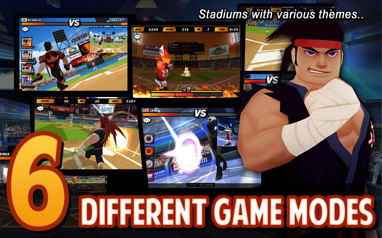 Screenshots of Homerun Battle 2 for Android