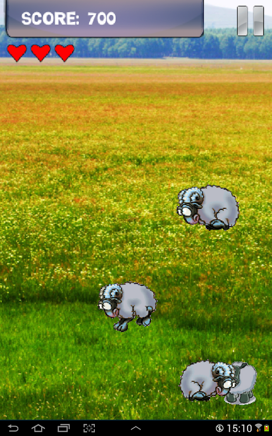 Android Sheep Game - screenshot