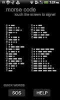 Screenshot of Morse Code App