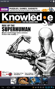 BBC Knowledge Magazine - screenshot thumbnail