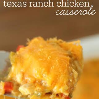 Texas Ranch Chicken Casserole.