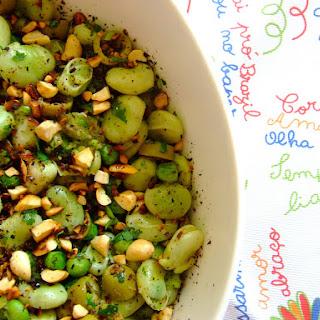 Sauteed Fava Beans.