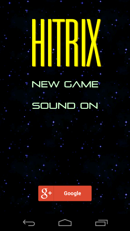 Hitrix - screenshot