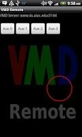Screenshot of VMD Remote Control