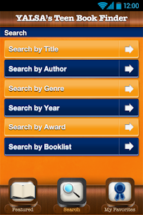 YALSA's Teen Book Finder- screenshot thumbnail