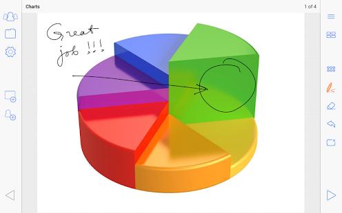 PPT and Whiteboard Sharing - screenshot thumbnail