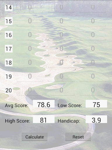 【免費運動App】Golf Handicap Calculator-APP點子