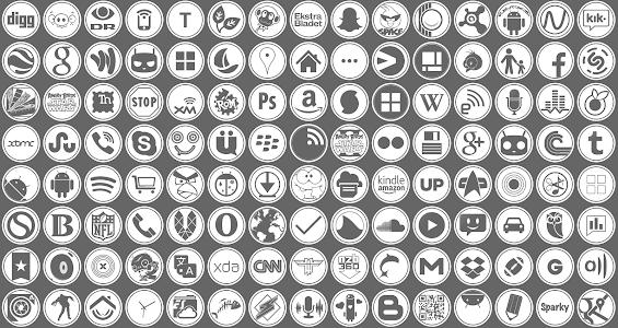 RemicksCircles Icon Pack v5