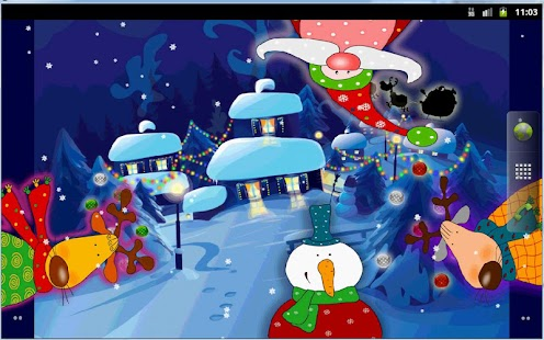 Sweet Christmas Live Wallpaper Full - náhled