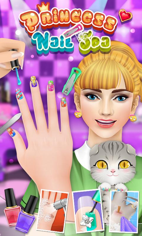 Princess Nail Salon Revenue Download Estimates Google Play
