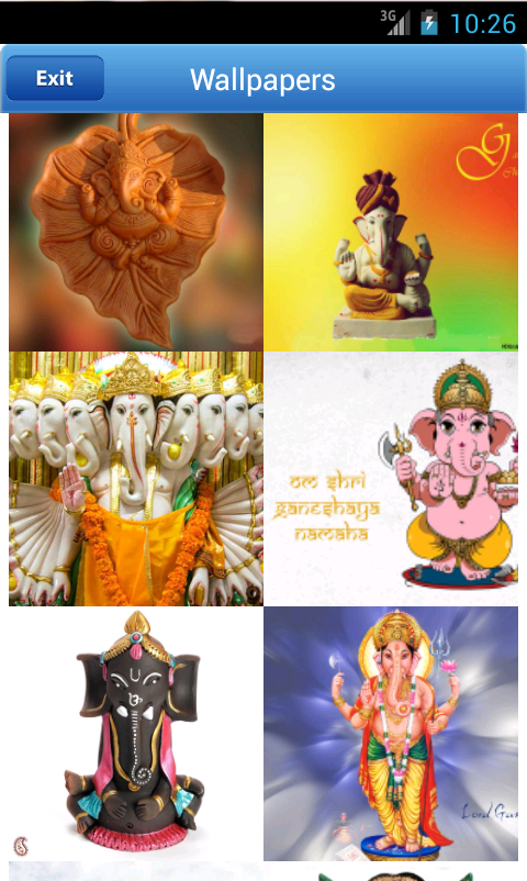 Modern Ganesh HD WAllpaper - screenshot