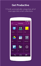 9 Cards Home Launcher Screenshot 2